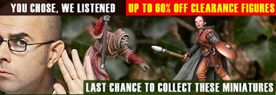 Clearance Sale on Mithril Miniatures.