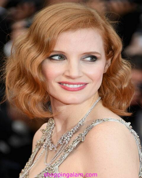 Hairstyles Fabulous | Hairstyles haircut for woman Jessica Chastain Facebook