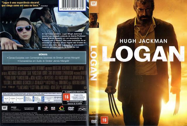 Capa DVD Logan (Oficial)