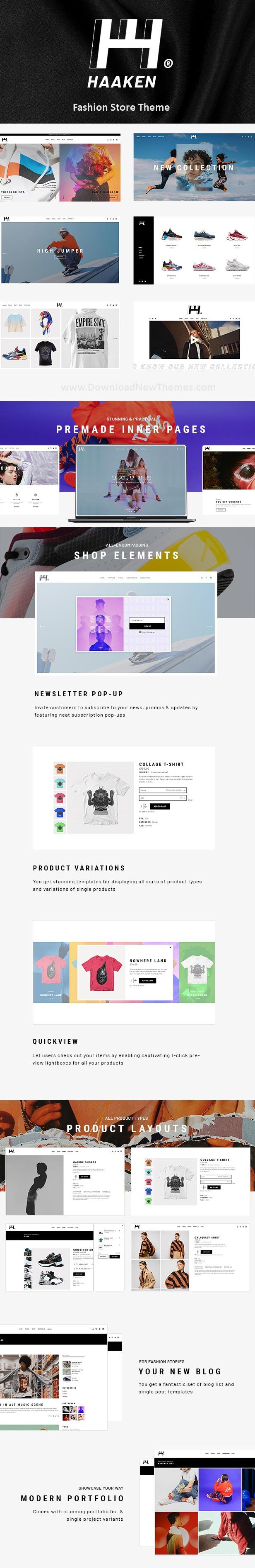 Fashion Store WooCommerce WordPress Theme