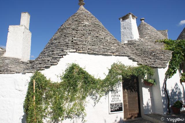 Trullo, tipica abitazione di Alberobello