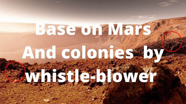 Alien base on Mars whistle-blower tells all about colonies on Mars.