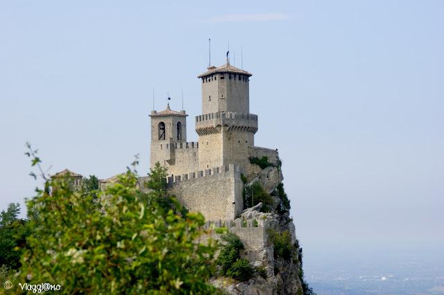 La Torre Guaita, prima fortificazione sul Monte Titano