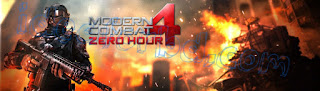 Modern combat 4 zero hour apk+data Android game free download