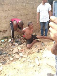 Man Caught stealing generator