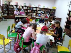 После викторины школьный лагерь Усмішка бібліотека-філія №4 М.Дніпро