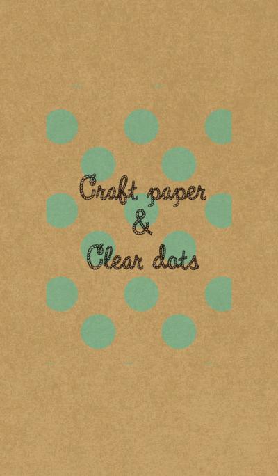 Craft paper & dots
