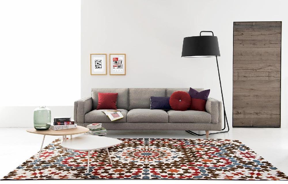10 tappeti moderni per la casa d'inverno