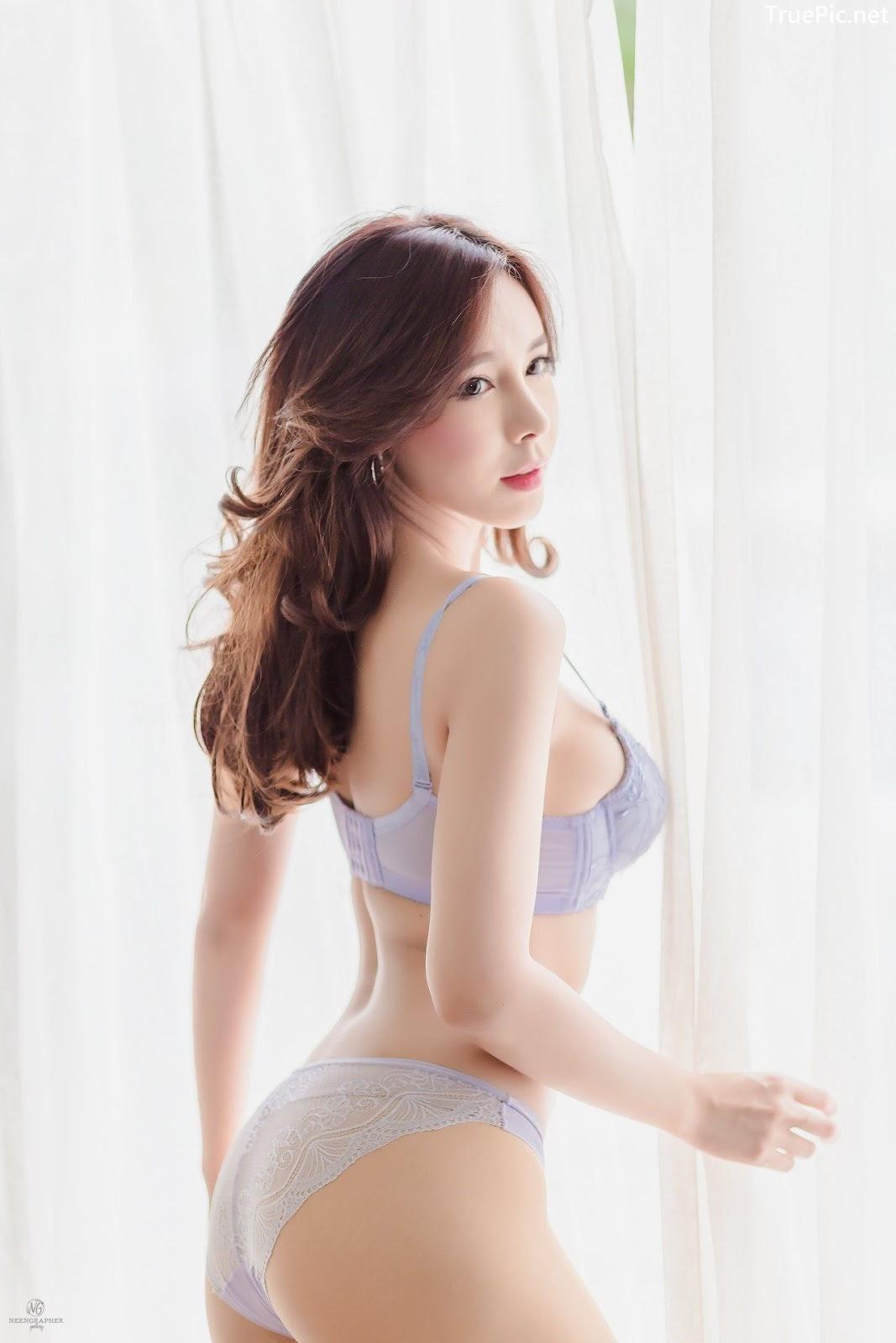 Image-Thailand-Hot-Model-Skykikijung-Purple-Lingerie-TruePic.net- Picture-5