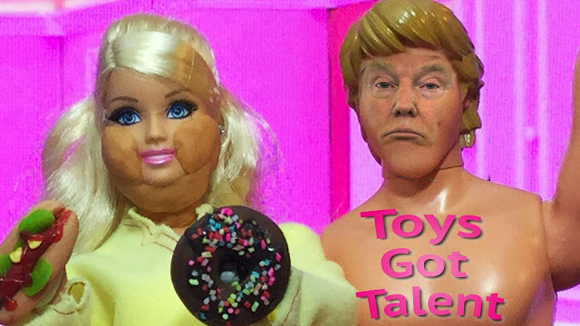 Donald and Melania Trump Toys Got Talent Competition Picture
