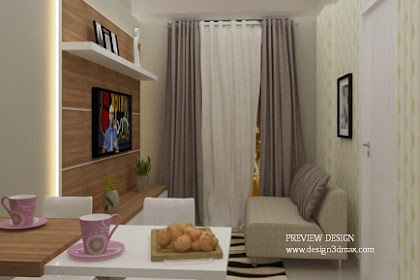 Design Interior Apartemen 1 BR Trivium Terrace