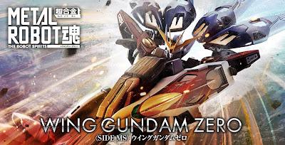 Tamashii Japan Announces Metal Robot Spirits (SIDE MS) Wing Gundam Zero
