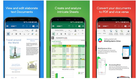 OfficeSuite free trial start | Word, Excel, PowerPoint & PDF (Android)