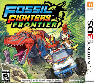 Fossil Fighters Frontier 3DS CIA USA