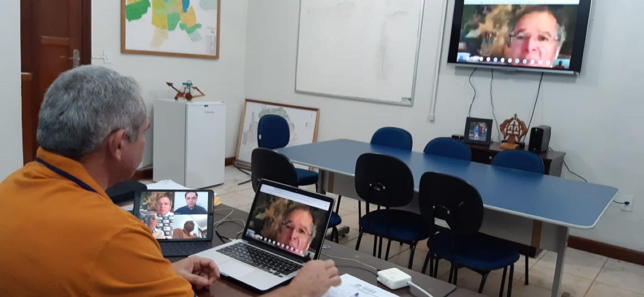 Paulo Guedes concorda com Nélio sobre repasse direto aos municípios e custo extra da Amazônia