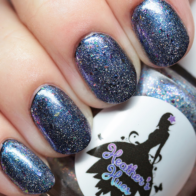 Heather's Hues Sparkle Specialist over black