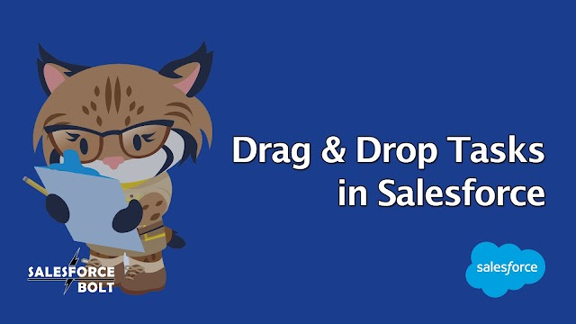 Drag and Drop tasks like Trello in Salesforce