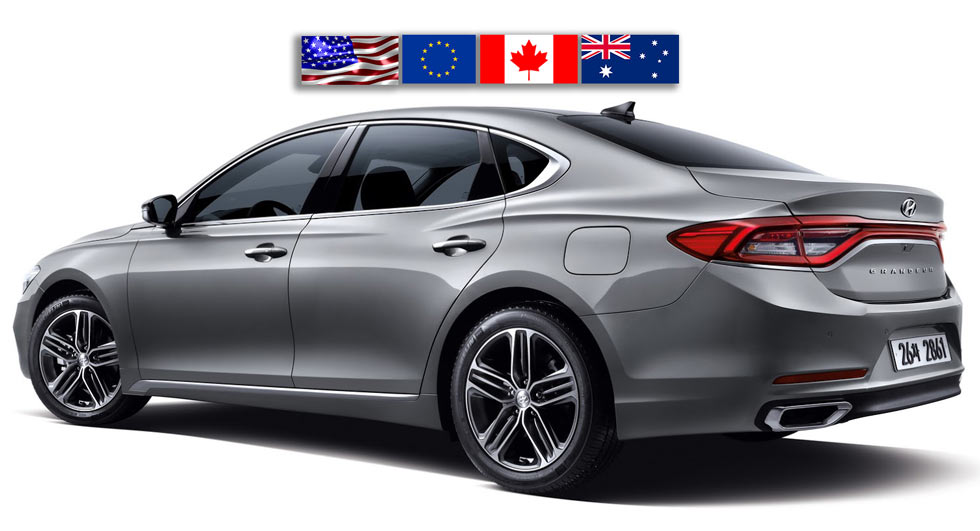 sorry america europe australia you won t be getting new 2017 hyundai azera at least not as is. Black Bedroom Furniture Sets. Home Design Ideas