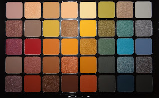 Review NYX Swear By It Oogschaduw palette