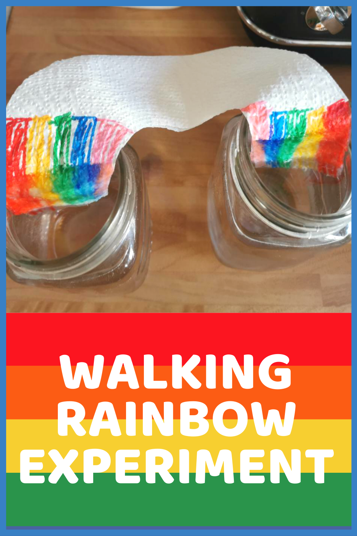 Walking Rainbow Experiment