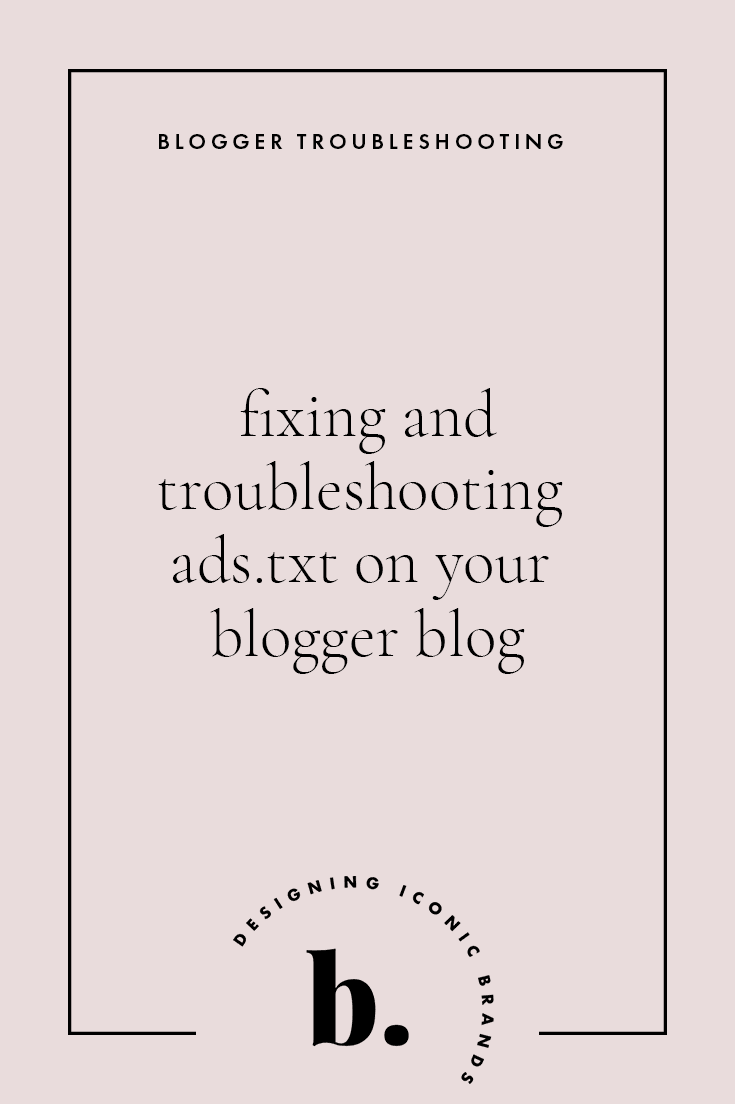 fix ads.txt notification in adsense for bloggers on blogger