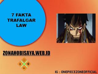 7 Fakta Trafalgar Law One Piece, Kapten Dari Bajak Laut Heart
