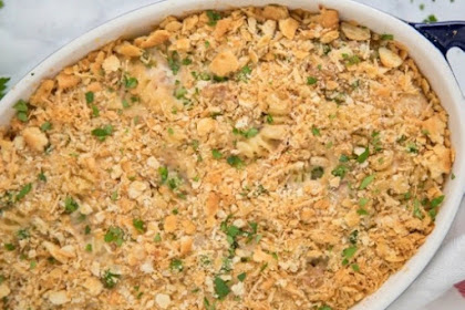 THE BEST TUNA CASSEROLE RECIPE