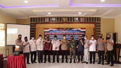 Polres Agam Siapkan 2 Pos PAM-4 Pos Yan, JelangOperasi Lilin Singgalang 2020