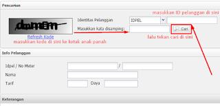 LOGIN layanan.pln.co.id/infopsbb.html