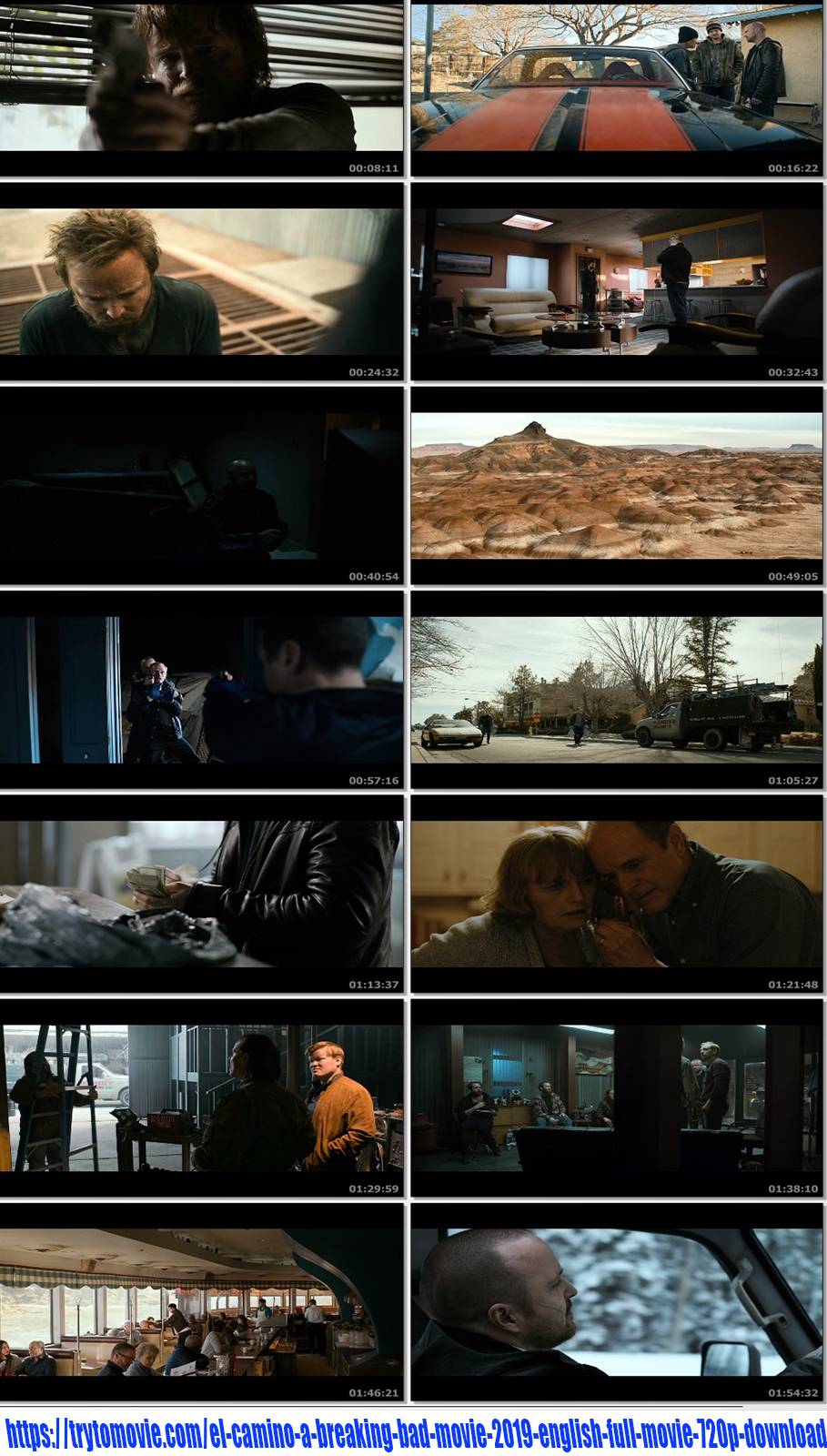 El Camino: A Breaking Bad Movie 2019 English Movie 720p Download