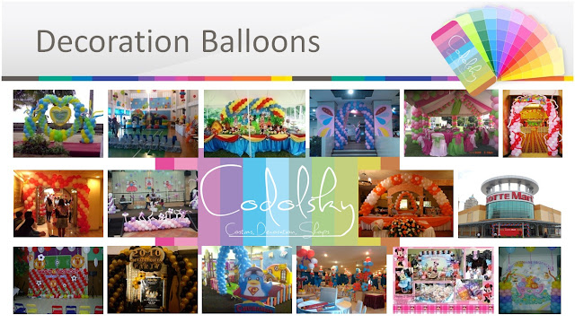 Dekorasi Balon, EO Ulang Tahun Anak (Kids Birthday Party Organizer), Birthday Party Planner