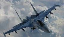 Russian SU-27 military plane