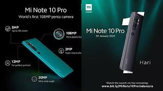 Xiaomi Mi Note 10 Price in India | January 2020, Release Date