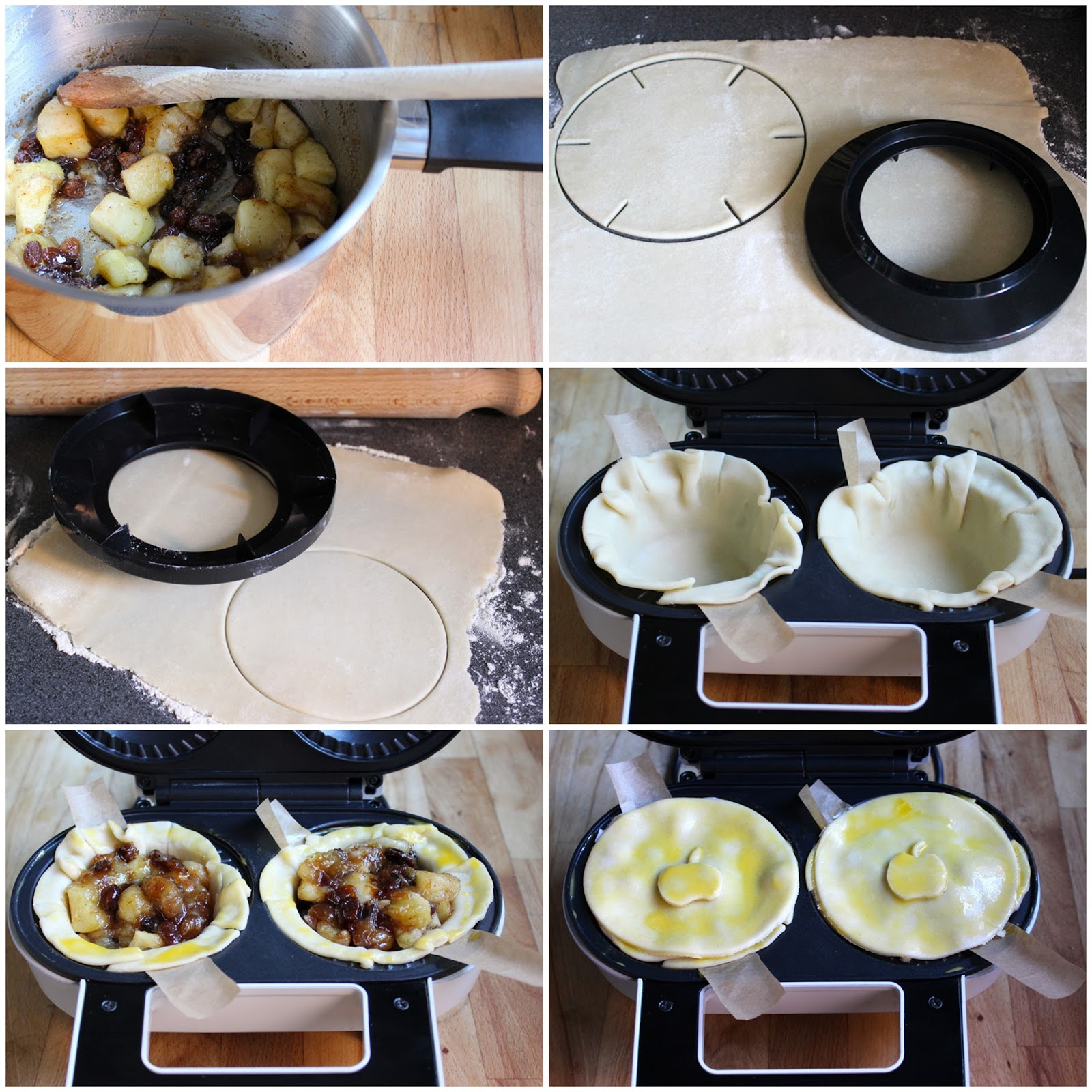 How to use an electric pie maker