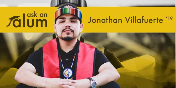 CSP alumnus Jonathan Villafuerte