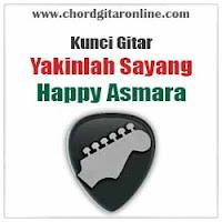 Chord Kunci Gitar Yakinlah Sayang Happy Asmara