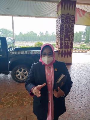 Aprilliati Imbau Masyarakat Lampung Disiplin Patuhi Prokes