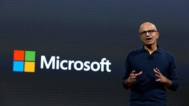 Satya Narayana Nadella, Microsoft