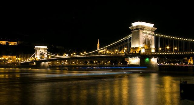 Ponte delle catene Szechenyi-Budapest
