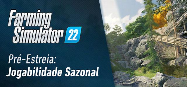 Jogabilidade sazonal no Farming Simulator 22 - Novas capturas de tela e informações!