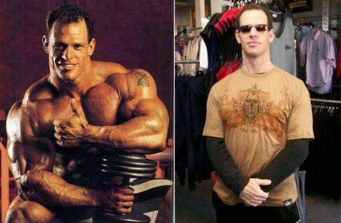 Famous bodybuilders have changed over the years