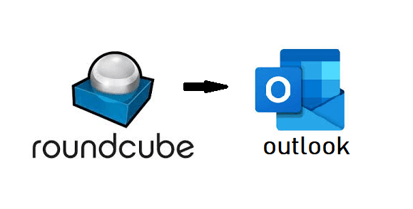 Export Roundcube to Outlook