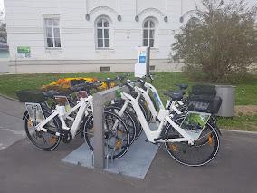 E-bikes in Vienna central cemetery