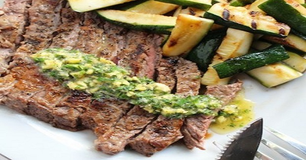 Fresh Herb Buttered Steak Recipe