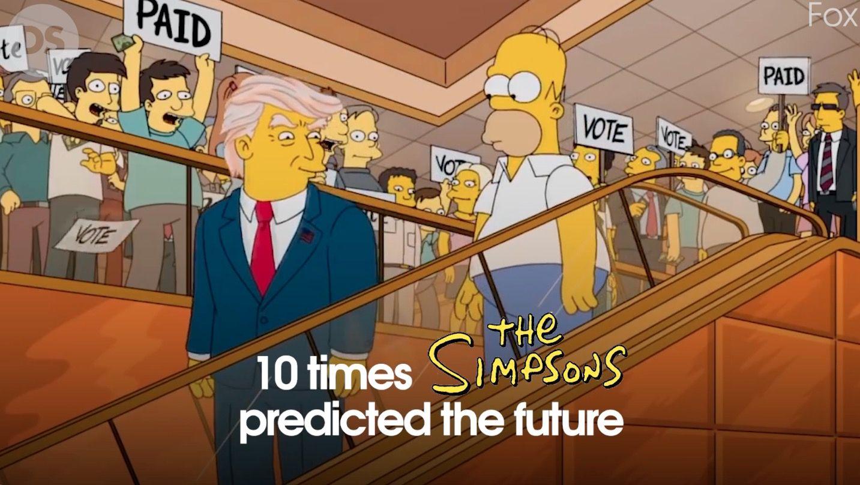 Sederet Predeksi Kartun The Simpsons yang Terjadi di Dunia Nyata