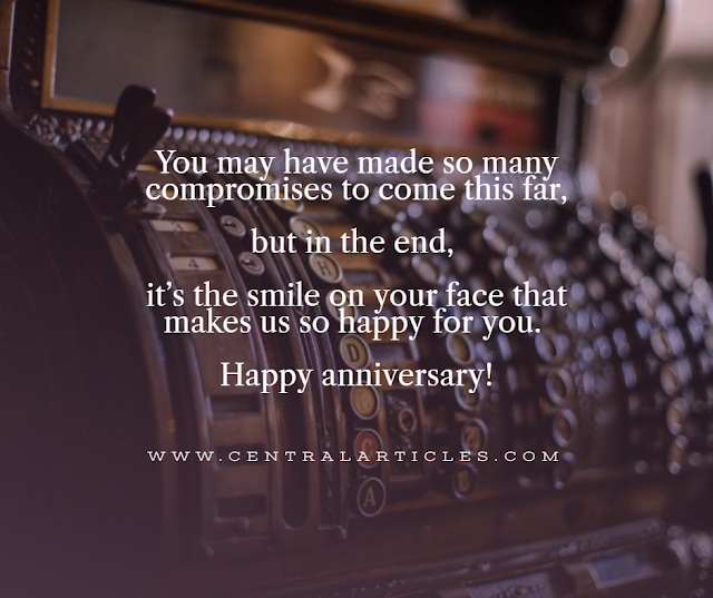 You may have made so many compromises to come this far