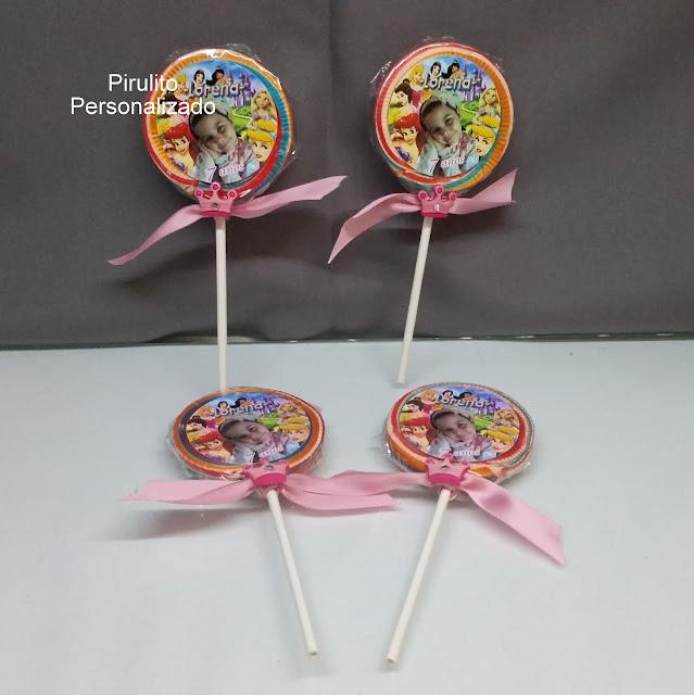 Pirulito As Princesas  Disney dicas e ideias para decoração de festa personalizados