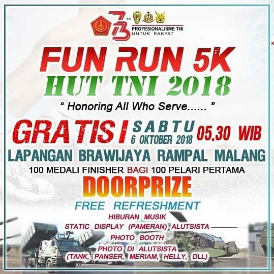TNI Fun Run - Malang • 2018