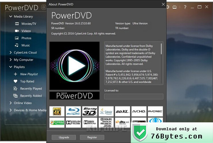 Download Old Versions of PowerDVD for Windows