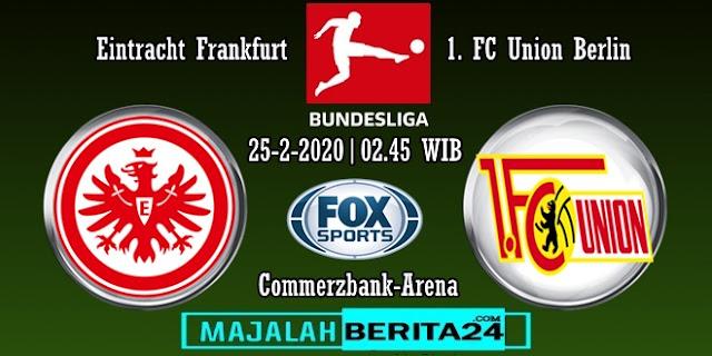 Prediksi Eintracht Frankfurt vs Union Berlin